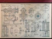 Bild Konstruktionszeichnung Jahrgang 1903 04