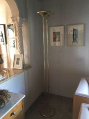 Estiluz Designer Stehlampe in Gold