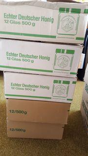 60 Stück Honiggläser 500g gebraucht