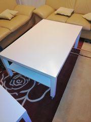 Couchtisch weiß 118x78 cm tisch