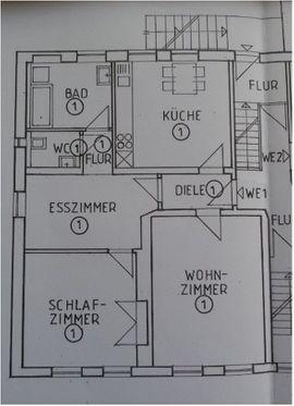 Wohnung in einem 3 Parteienhaus im Zentrum von St. Ingbert zu vermieten auch WG geeignet