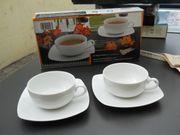 Teetassen mit Unterteller Böckling