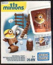 Mega Blocks Minions Snowball Fight
