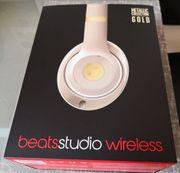 beatsstudio2 wireless metallic edition gold