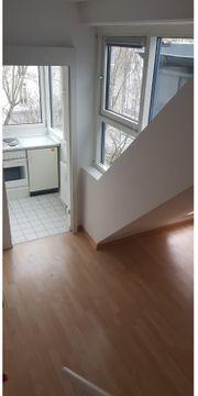 1-Zimmer-Wohnung Maisonette in ruhiger und