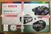2 Bosch 18 V Akkus