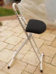 Sitzhilfe Sitzstuhl Bügelhilfe Bügelhocker BUDAH