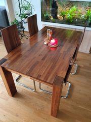 Esstischgarnitur Esstisch inkl 4 Stühle