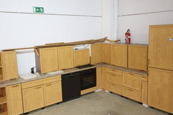 Küche komplett L-Form - HH22073