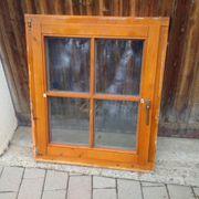 1 Holz - Fenster mit Stockrahmen