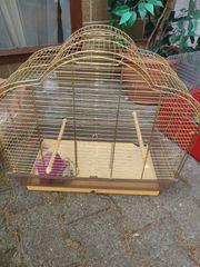 Gebrauchter vogelkäfig