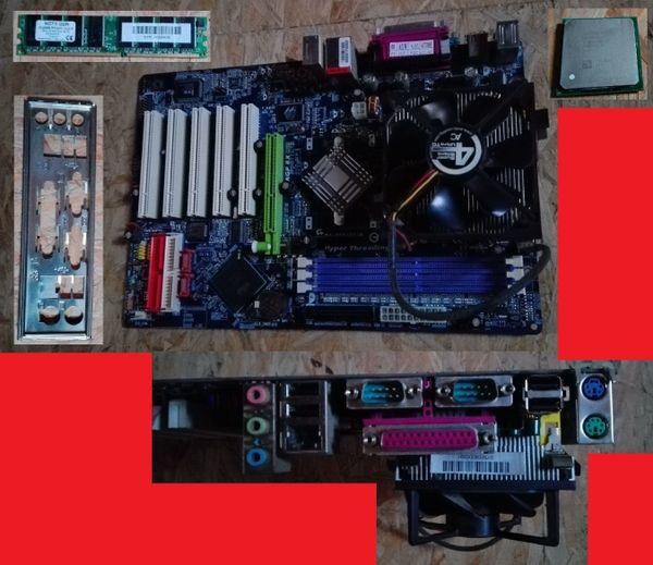 mainboards RAM CPU gebraucht aber