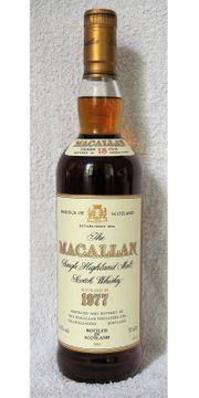 Macallan Whisky 18yo 1977 43