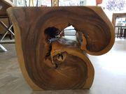 Wurzel - Holz Hocker auch als
