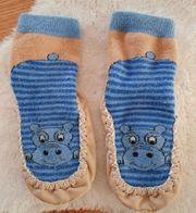 Hausschuhe Socken Gr 22 23