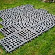 Paddockplatten Paddockmatten Verlegung ohne Unterbau