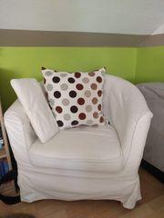 IKEA Tullsta Sessel beige inkl
