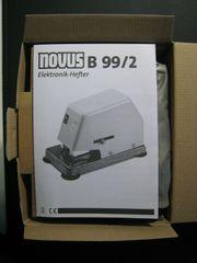 novus B99 2 Elektrohefter Tacker
