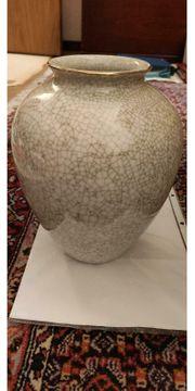 Metzler Ortloff Vase mit Goldrand