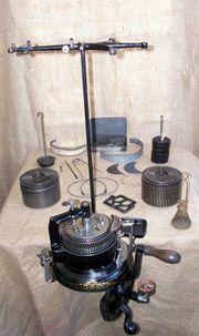 IMPERIA TRIPLEX - Vintage-Gusseisen-Rundstrickmaschine für Socken