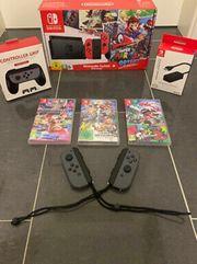 Nintendo Switch 32GB Rot Spiele