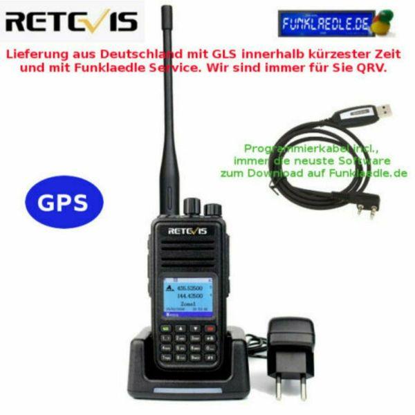 Retevis RT3S Digital DMR Analog