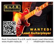 Lead Guitarplayer gesucht für Rock