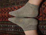 Getragene Socken solange Du willst