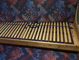 Massivholz-Bett 200x90 cm ausziehbar als: Kleinanzeigen aus Herzogenaurach - Rubrik Betten