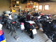 Motorradstellplätze zum Überwintern