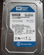 Western Digital WD5000AAKX Blue 500GB