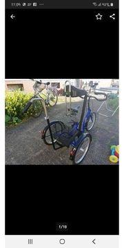 verkaufe neuwertiges behinderten Fahrrad