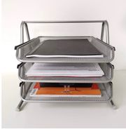 Metall Ablagefächer Büro Organizer Schreibtisch