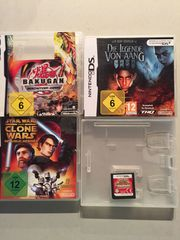 Verschiedene Nintendo DS Spiele
