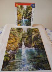 Puzzle 1000 Wasserfall Saison 214