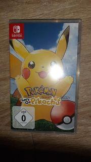switch spiel pokemon pikachu neu