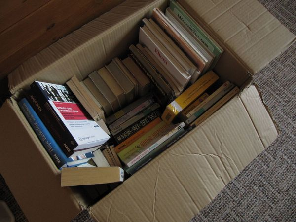 Bücherkiste Konvolut 53 Bücher aller