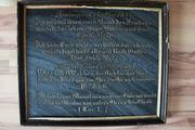 Grabplatte Gedenkplatte aus Marmor