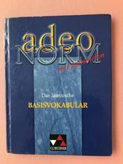 Adeo Norm das lateinische Basisvokabular