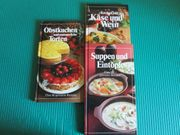 3 Kochbücher neuwertig