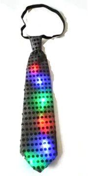 Party Karneval Fasching LED Krawatte