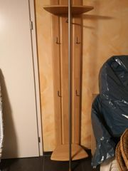 Garderobenpaneel Buche massiv