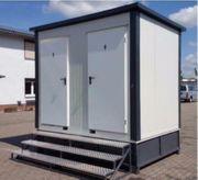 WC Container mit Fäkalientank -Toilette