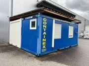 2 Bürocontainer im guten Zustand