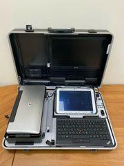 EDV- Prüfkoffer TÜV Laptop Notrbook