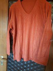 Pullover Gr 50 rostbraun