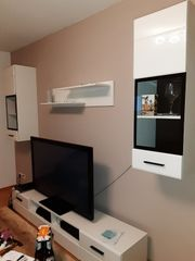 neue Wohnwand günstig abzugebrn