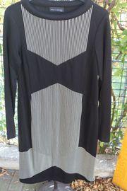 schwarz-weißes Kleid v Evelin Brandt
