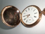Taschenuhr ca 1900 585 Rotgold