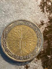 2 Euro Fehlprägung 2001 Sterne